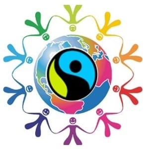 symbol for our Around the World with Fairtrade event on March 5 at Gosport Discovery Centre
