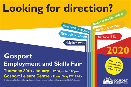 banner about Employment Fair