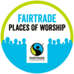 This image has an empty alt attribute; its file name is Fairtrade-Place-of-Worship-logo-150x150.png